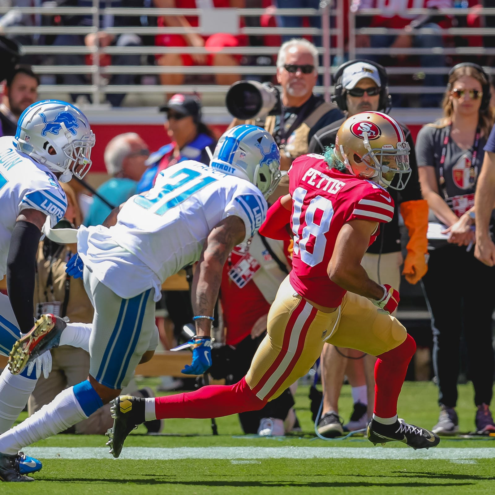 Detroit Lions observations vs. 49ers: CB Teez Tabor benched