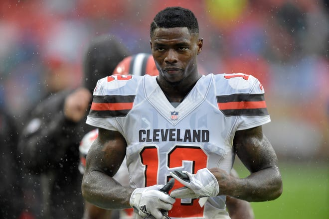 Former Pro Bowl wide receiver Josh Gordon was released by the Browns on Saturday.
