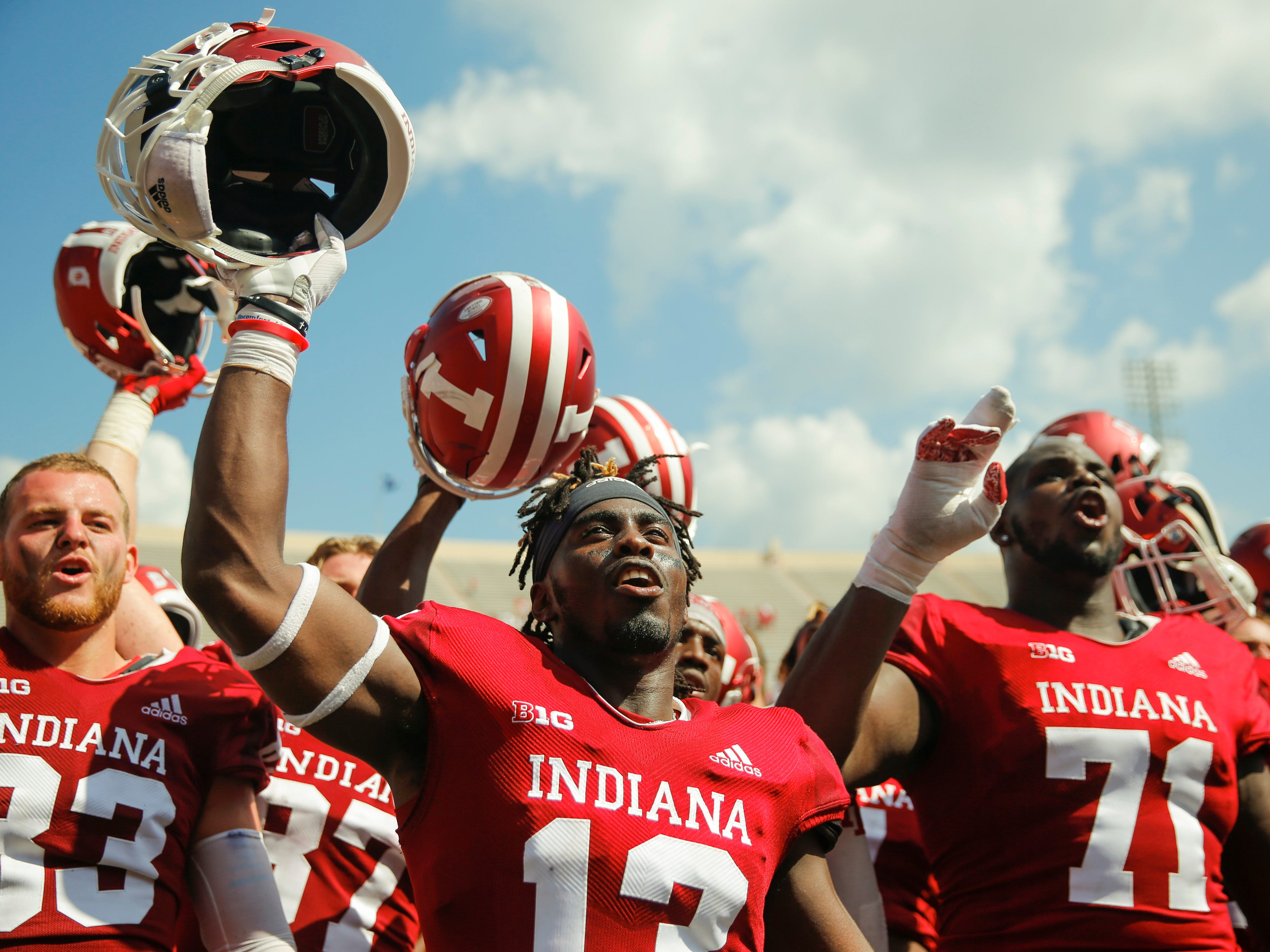 7. Indiana (3-0) – The Hoosiers rolled over Ball State to enter Big Ten play unbeaten, only the second time they've been 3-0 in the last decade. Stevie Scott was effective again, running for 114 yards and two touchdowns as Indiana begins the difficult task of competing in the East. Last week: 8.