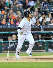 Victor Martinez's best season was 2014.