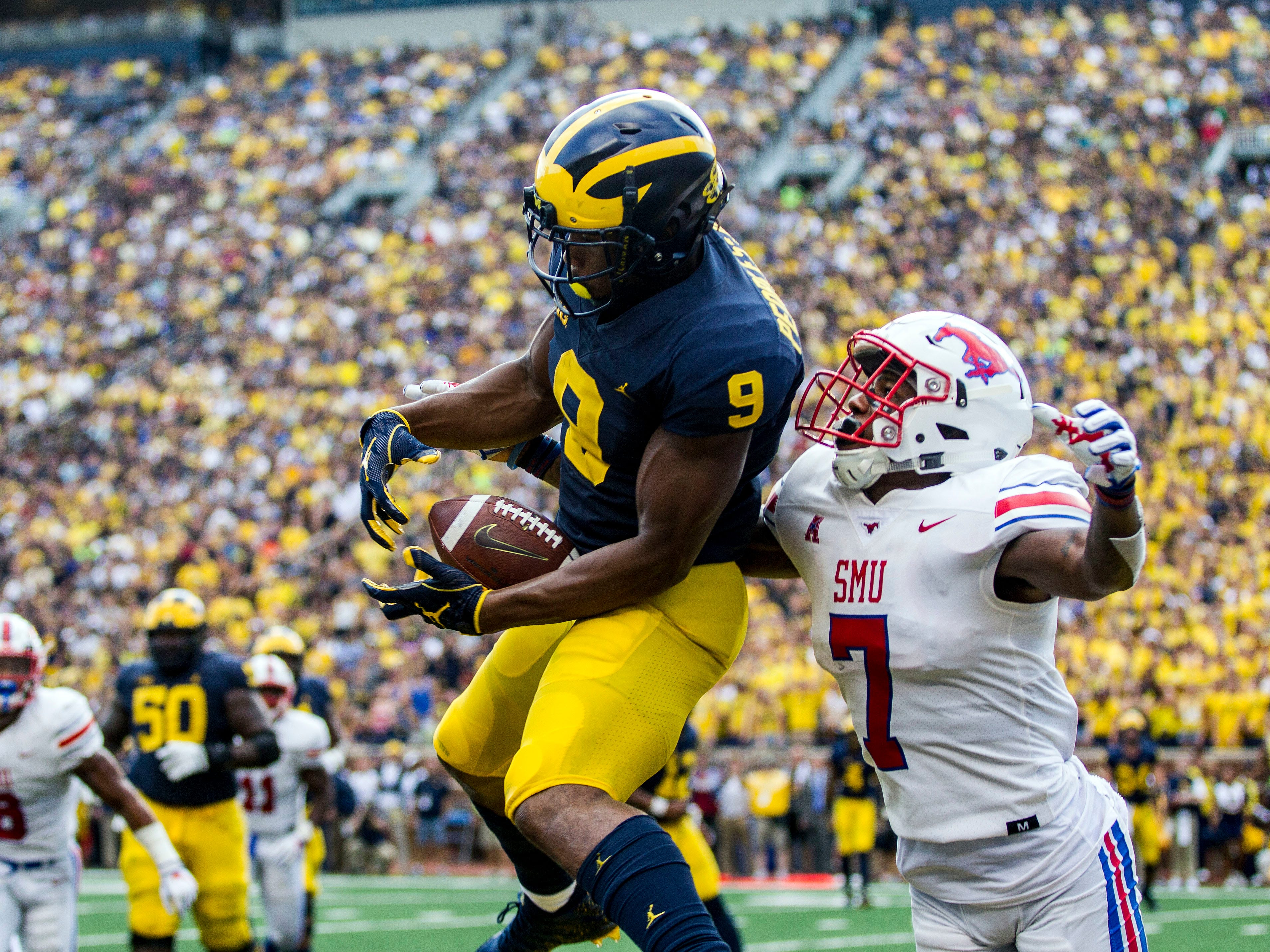 5. Michigan (2-1) – The Wolverines continued to do what they must, which is clean up on lesser competition and build some cohesion on the offensive side of the ball. However, trying to gauge exactly where the Wolverines stand is tough after starting slowly against SMU and committing 13 penalties. Nebraska comes to town next to open Big Ten play. Last week: 5.