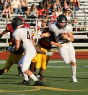 Corning was a 43-14 winner over Ithaca in football Sept. 15, 2018 at Ithaca High School.
