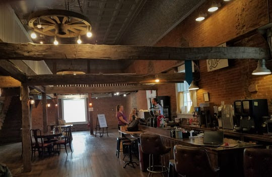 Lucid is alone inside the Newburgh Country Store, for now. The space is too cool to stay vacant for long, and we're excited to see what the future will bring.