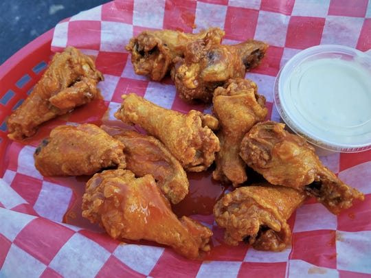 Don't forget the wings at Hoosier Land Pizza and Wings. Have original hot wings, or one of eight other flavors including BBQ, soy ginger and mango habanero.