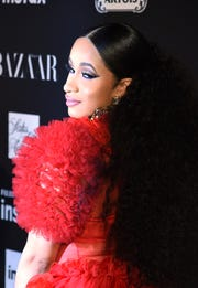"NEW YORK, NY - SEPTEMBER 07:  Cardi B attends as Harper's BAZAAR Celebrates ""ICONS By Carine Roitfeld"" at the Plaza Hotel on September 7, 2018 in New York City.  (Photo by Dimitrios Kambouris/Getty Images for Harper's Bazaar)"