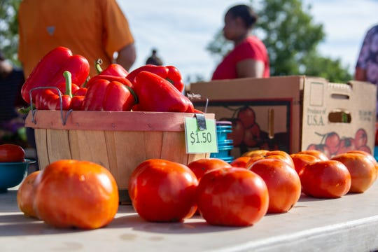 Market Square Farmer's Market, held at Market Square on Saturday, September 15, is an ideal place for Tallahassee residents to network with local growers and get their hands on fresh produce, but it is an opportunity largely passed up by university students.
