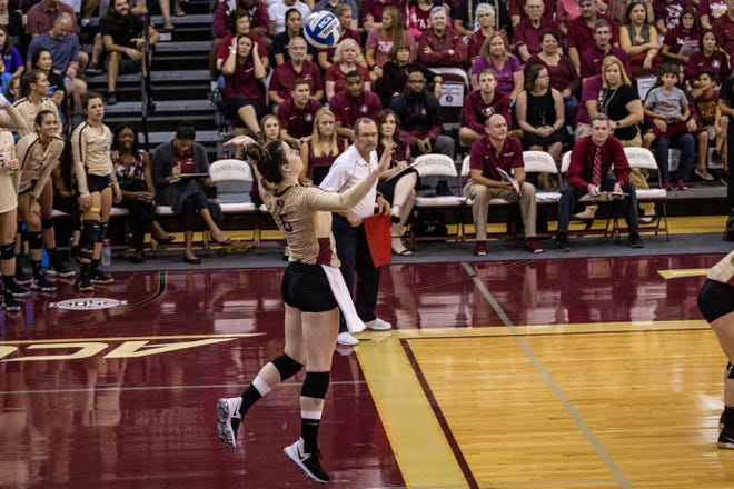 Florida State's volleyball team cruised to its second victory of the season with a convincing victory over the Tulane Green Wave on Thursday.