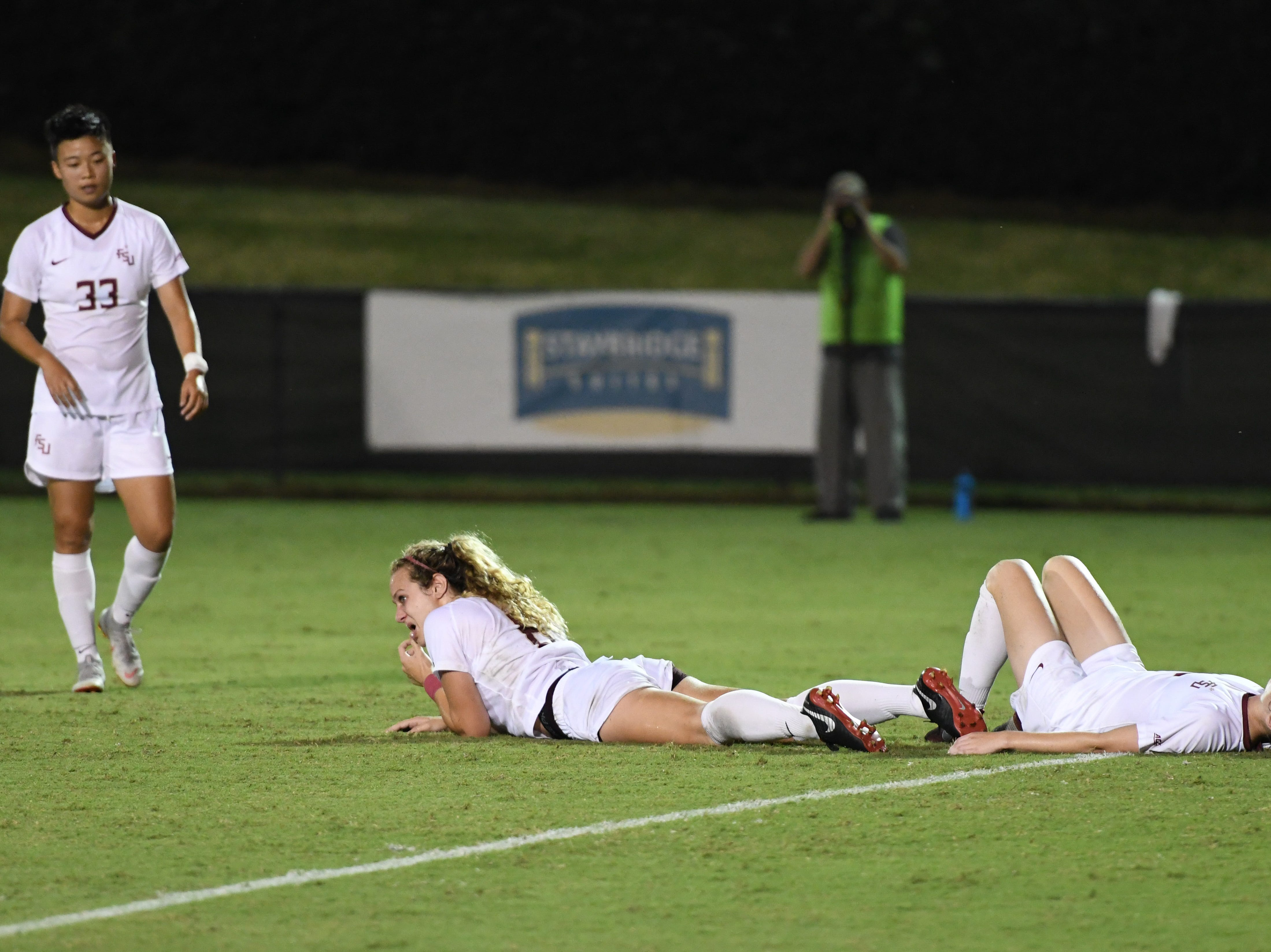 The FSU soccer team falls to No. 6 UNC 1-0 on September 14th at the Seminole Soccer Complex.
