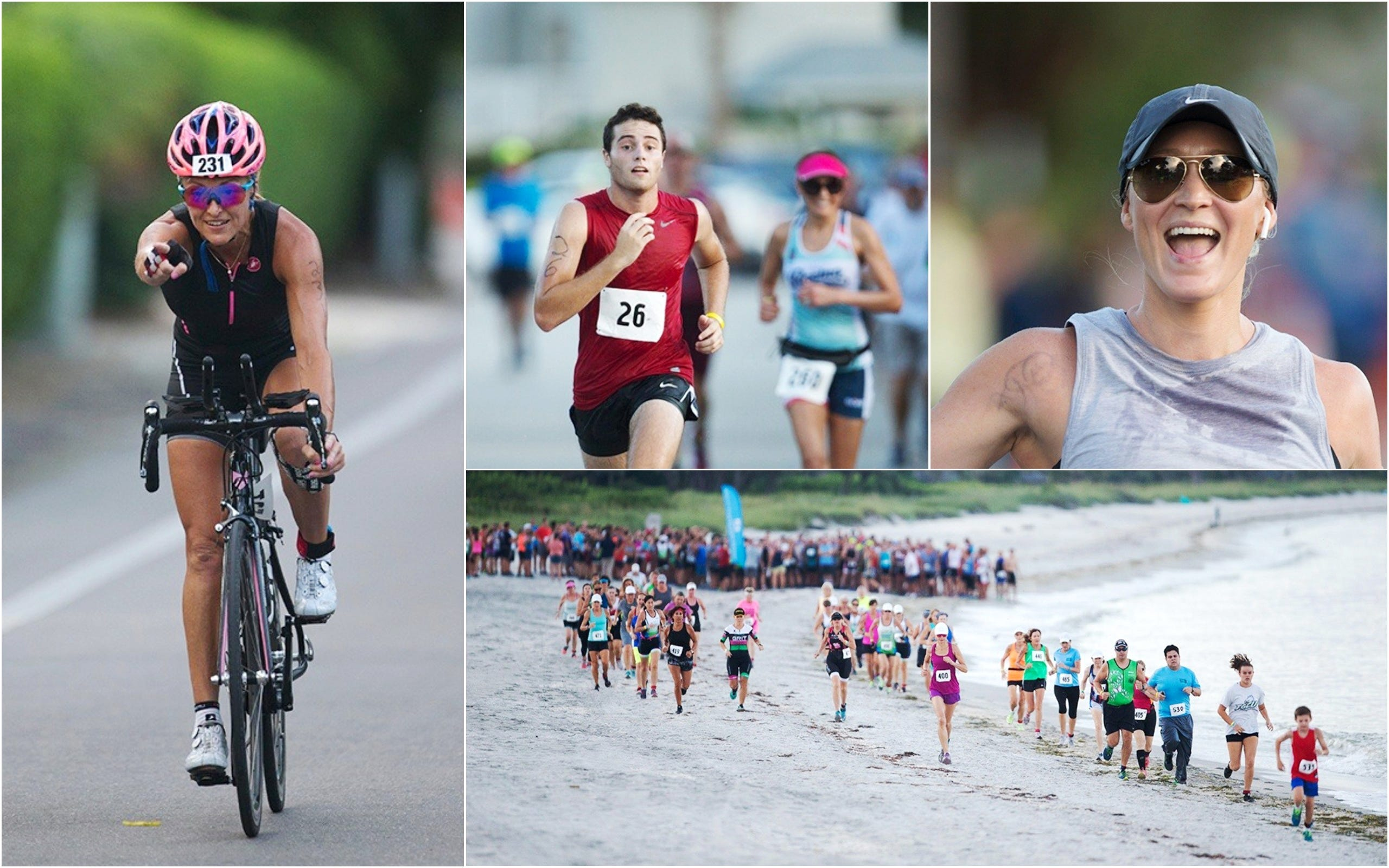 Video: Red tide no match for Captiva triathletes