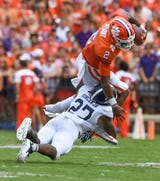 Clemson Tigers football coach Dabo Swinney has not relayed any details about quarterback Kelly Bryant's injury.