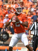 """Clemson QB Kelly Bryant says he is """"Full go ready to go today"""""""