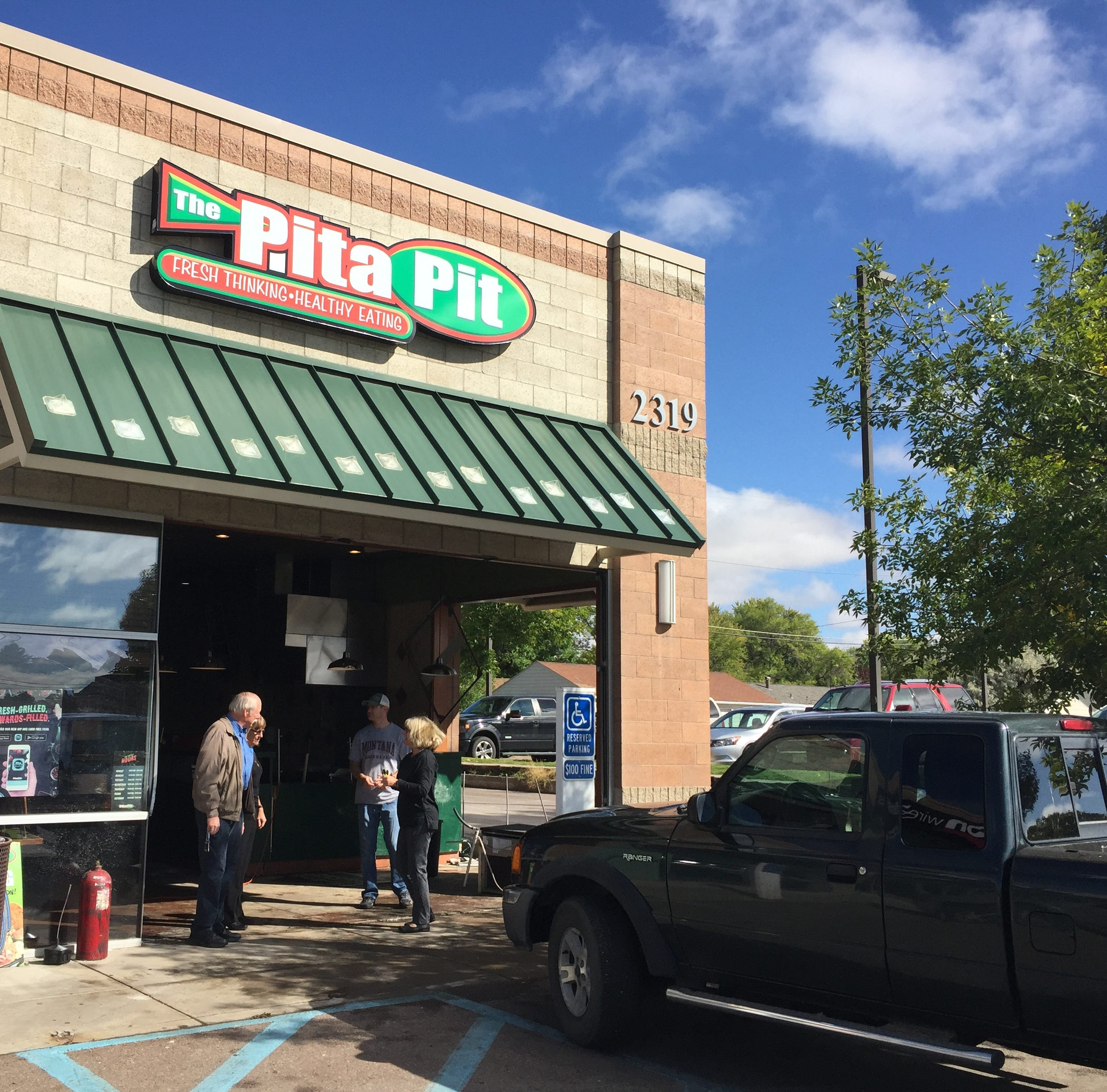Early morning 10th Avenue South crash sends pickup into Pita Pit