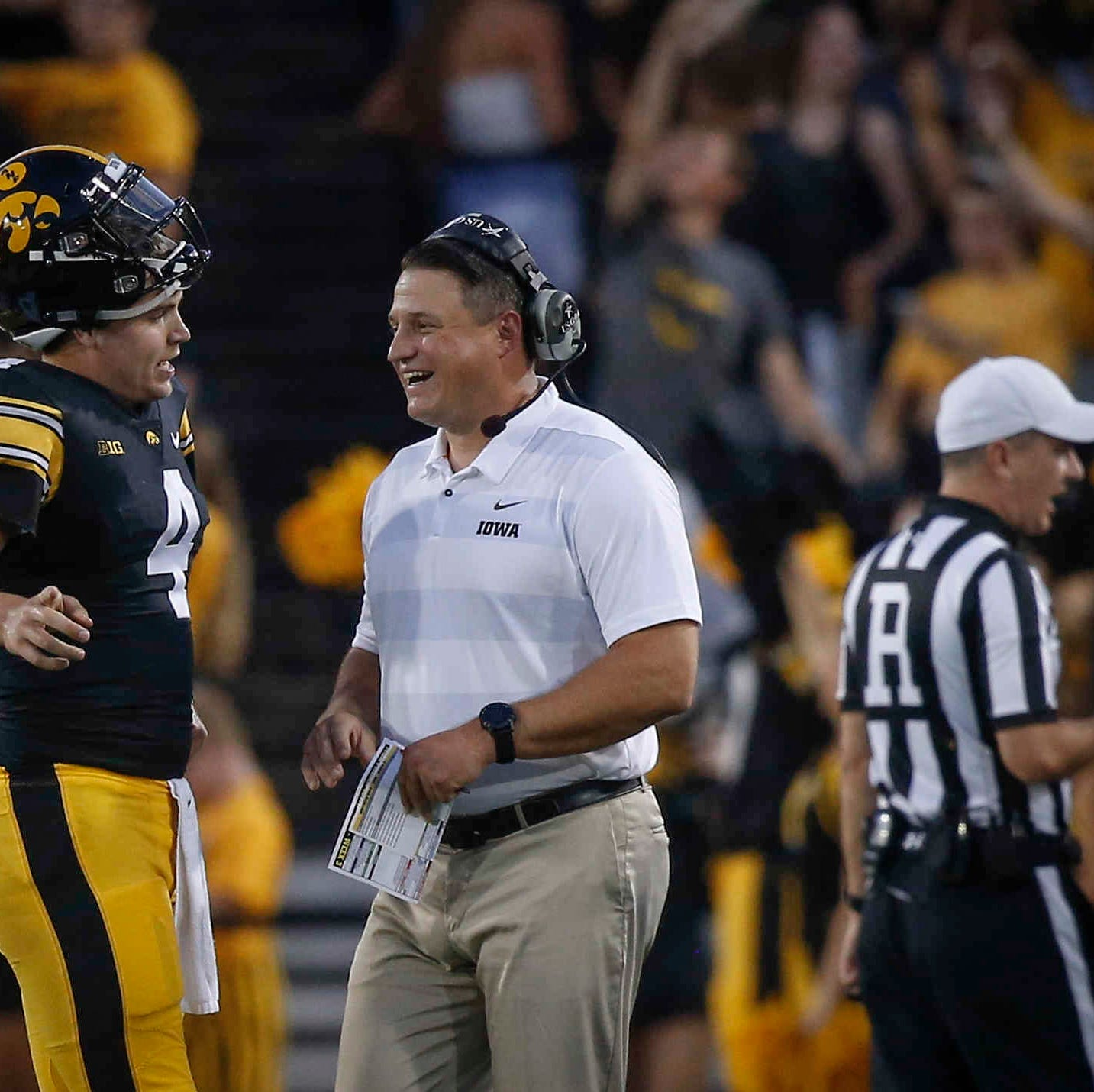 Leistikow's DVR Monday: The keys to Iowa offense's most productive day under Brian Ferentz