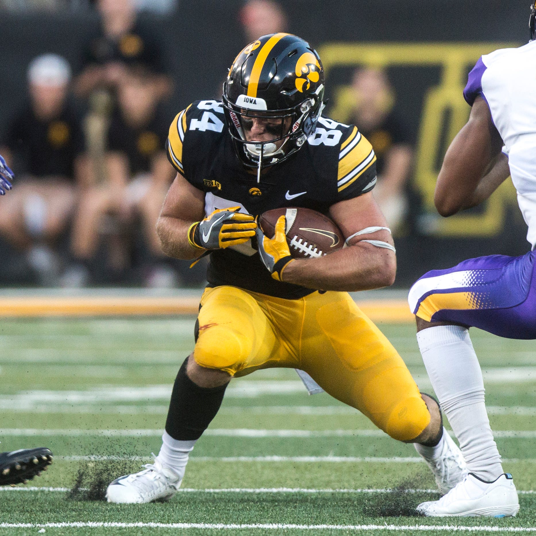 When it's time to keep a drive alive, Hawkeyes turn to Nick Easley