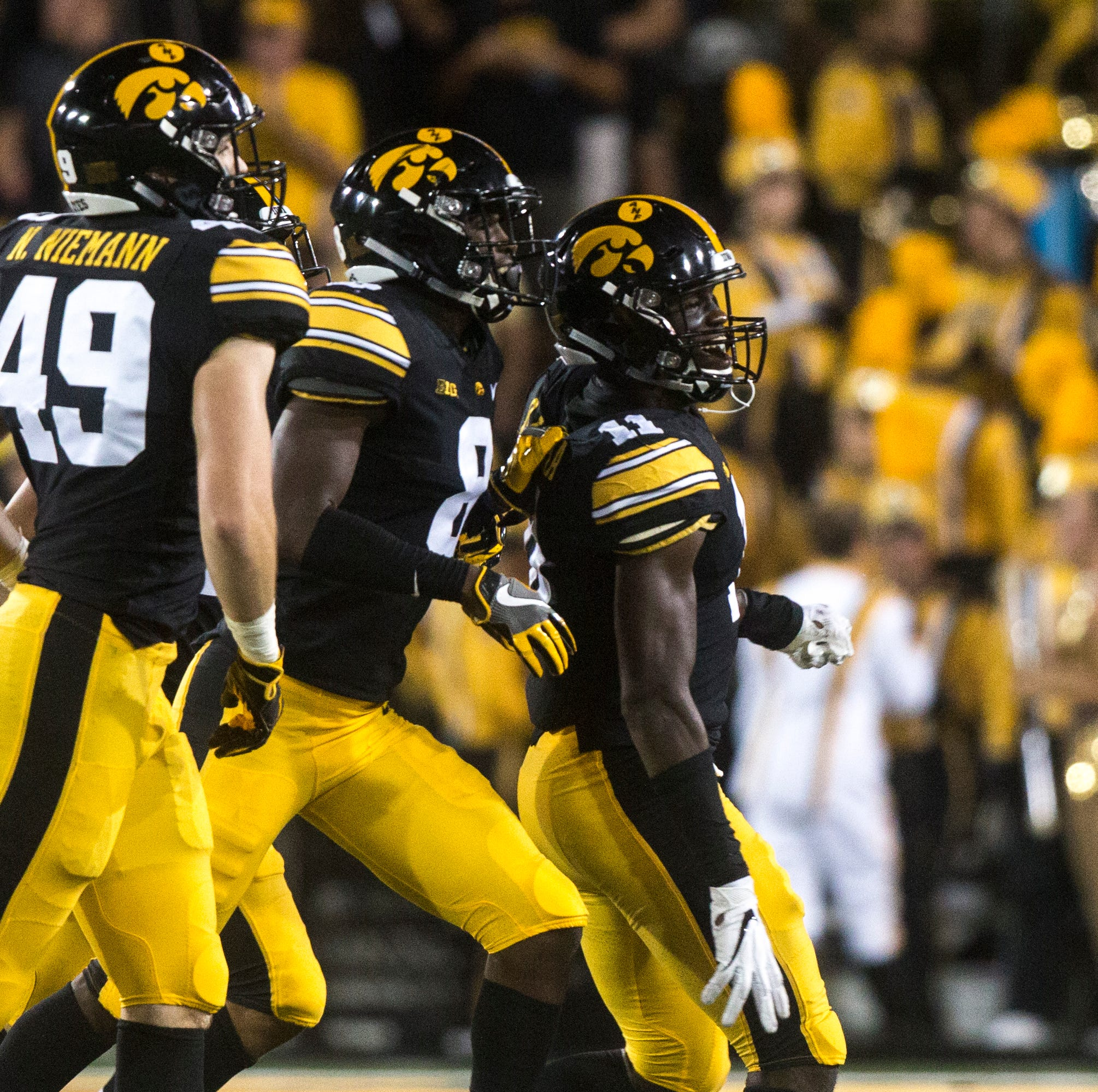 Once a reluctant cornerback, Michael Ojemudia now leads that position for Iowa football