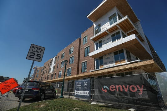 Fishers Downtown Development Spark Aparments With One Two And Three Bedroom Units And Live Work Spaces Seen September 14 2018