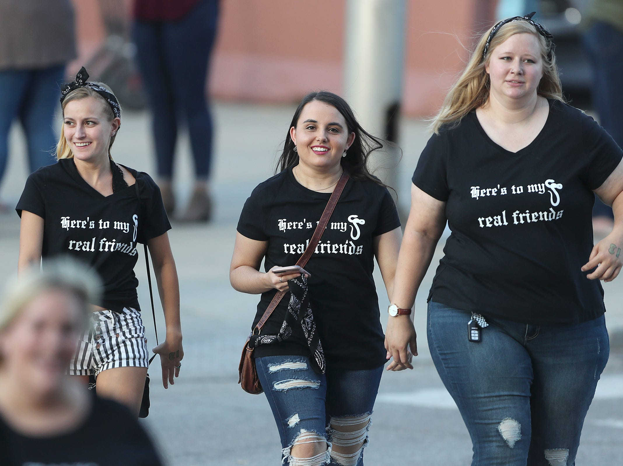 """""""Swifties"""" flood into Lucas Oil Stadium to see Taylor Swift perform on her Reputation stadium tour in Indianapolis, Saturday, Sept. 15, 2018. The show is 2018Õs biggest single-day concert in Indianapolis."""
