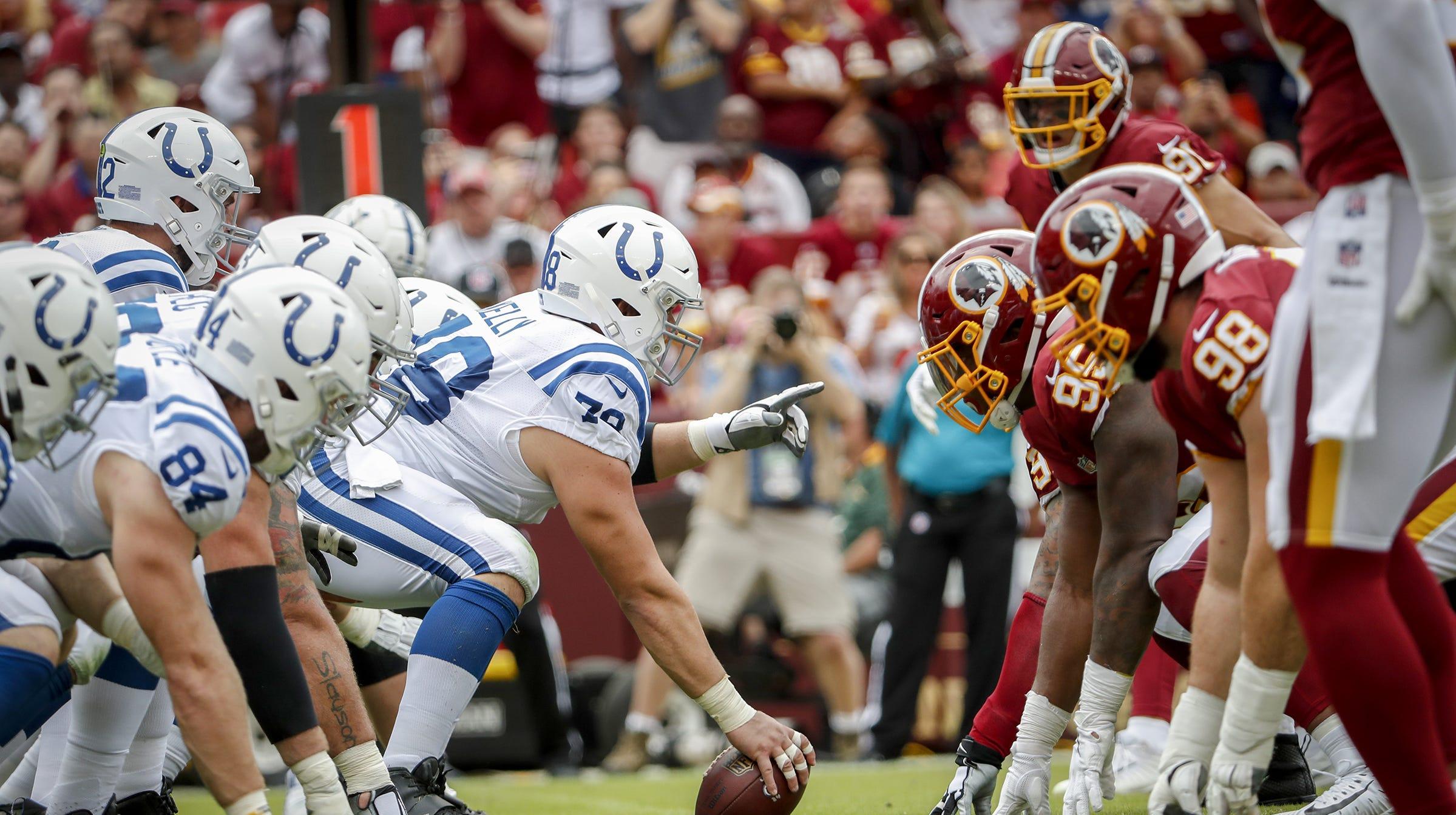 Insider: Still short-handed, Colts o-line finally keeping Andrew Luck safe