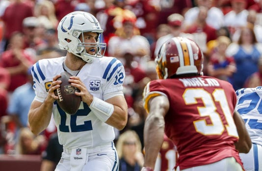 Indianapolis Colts Take On The Washington Redskins
