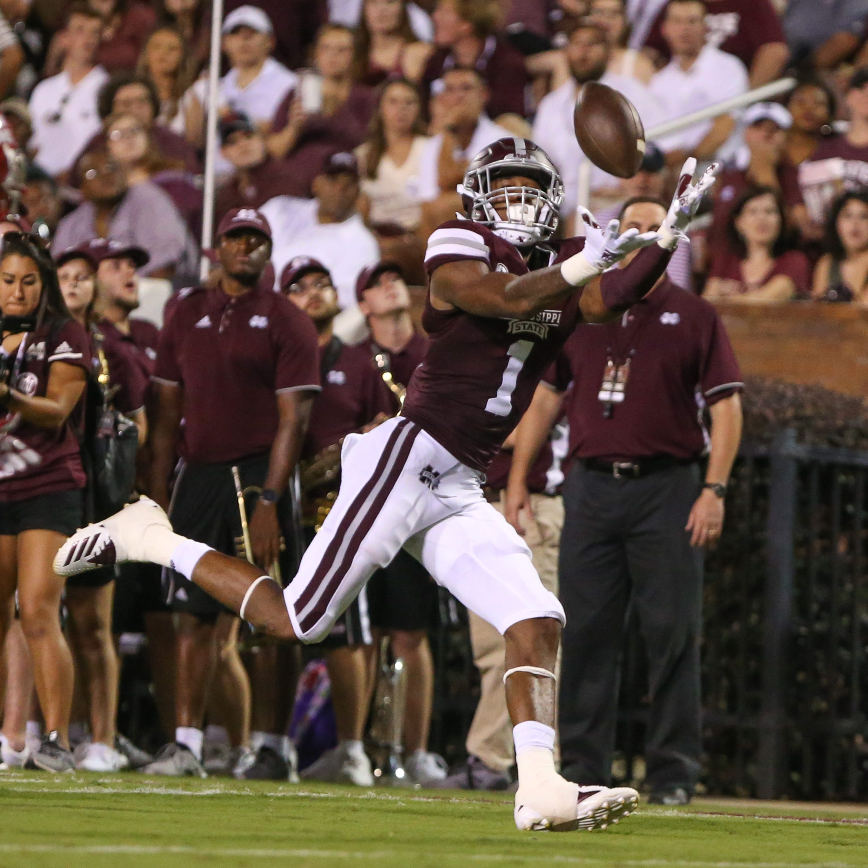 Mississippi State wide receiver Stephen Guidry is just getting started