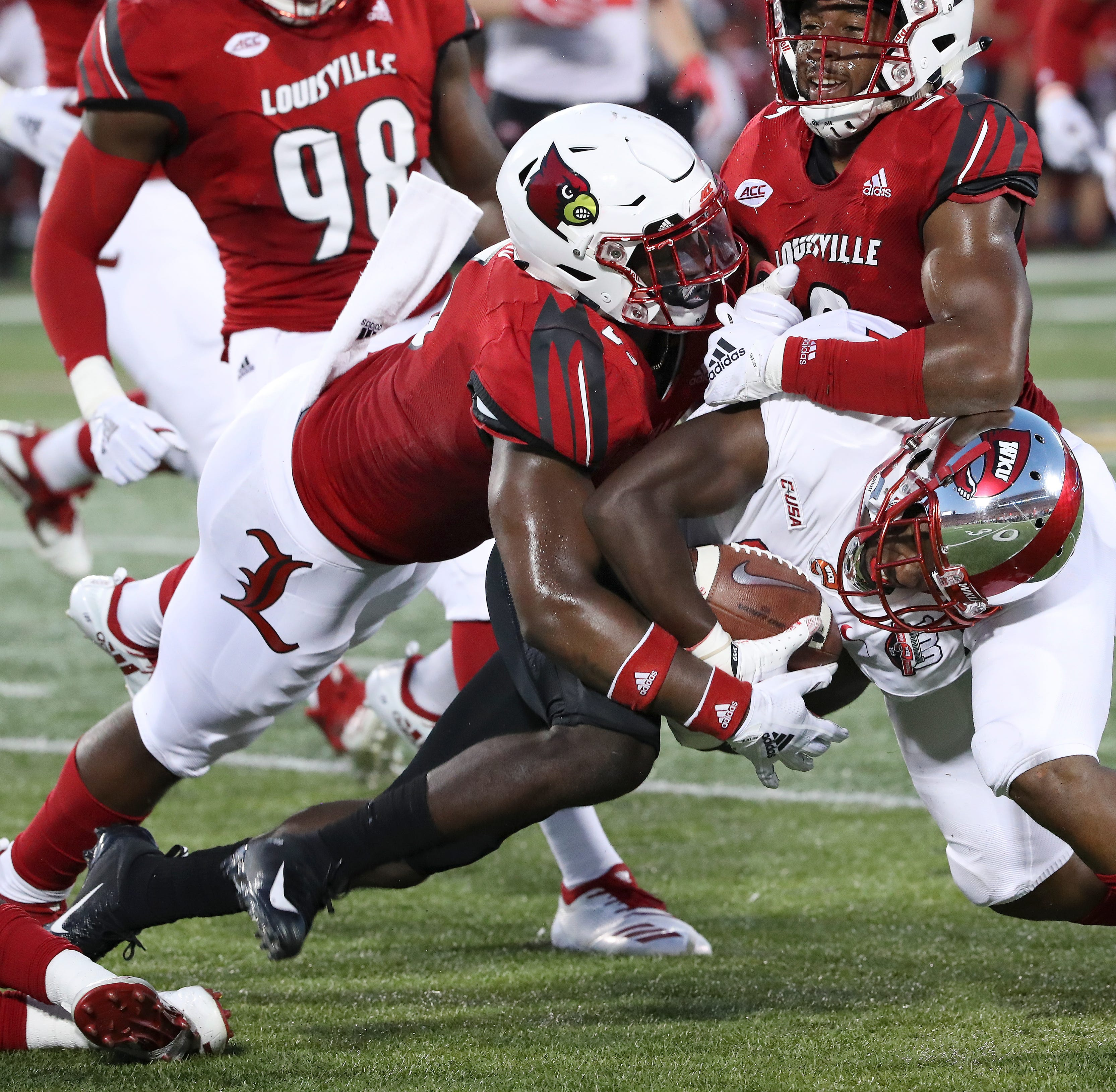 Louisville football LB Robert Hicks withdraws name from NCAA's transfer portal
