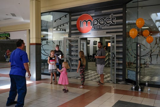 About $20,000 was raised to build Impact Church's new home in Lansing Mall. The money was obtained mostly through private donations. The mall is located inside a space that once occupied a Finish Line sports apparel store.