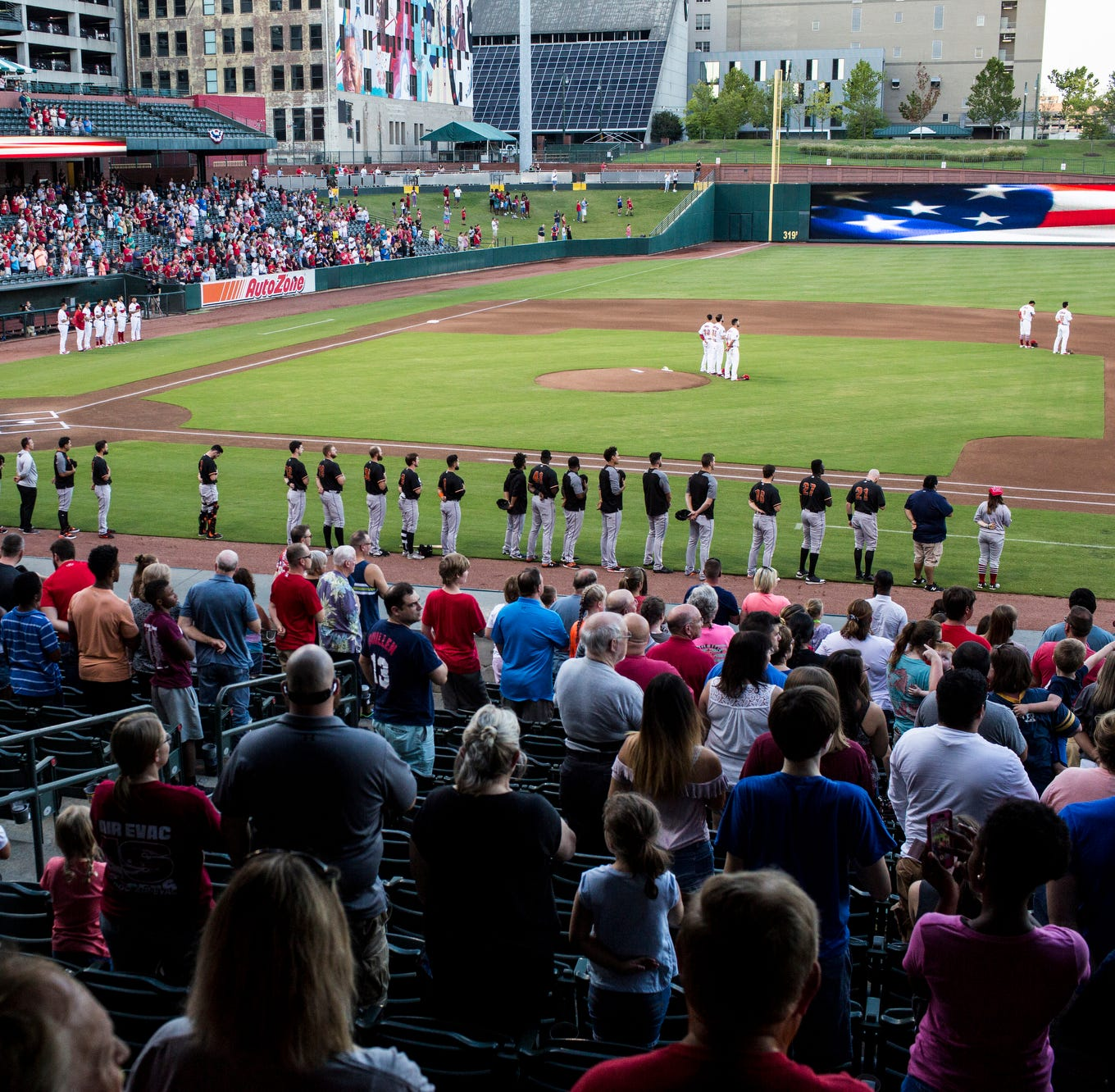 On 20th opening day, AutoZone Park is the gift that keeps on giving to Memphis
