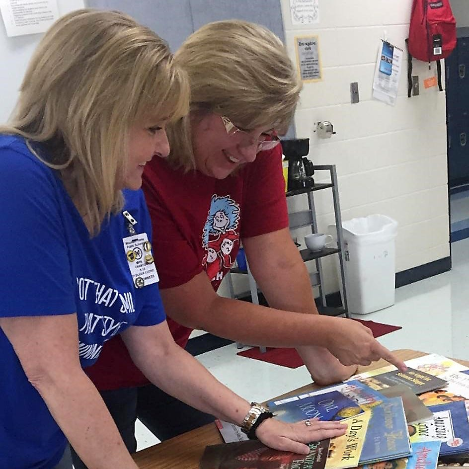 Literacy team prepares for 'dinner' event