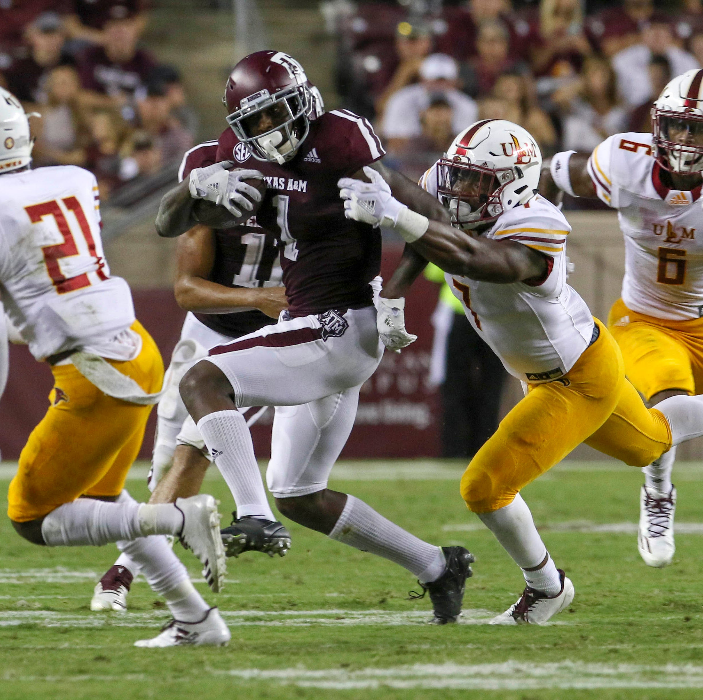 ULM strays from upset formula in Texas A&M loss