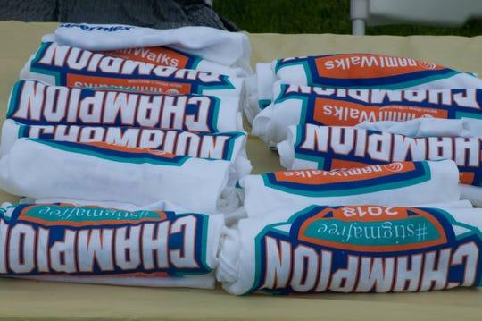 NAMIWalks t-shirts for participants.