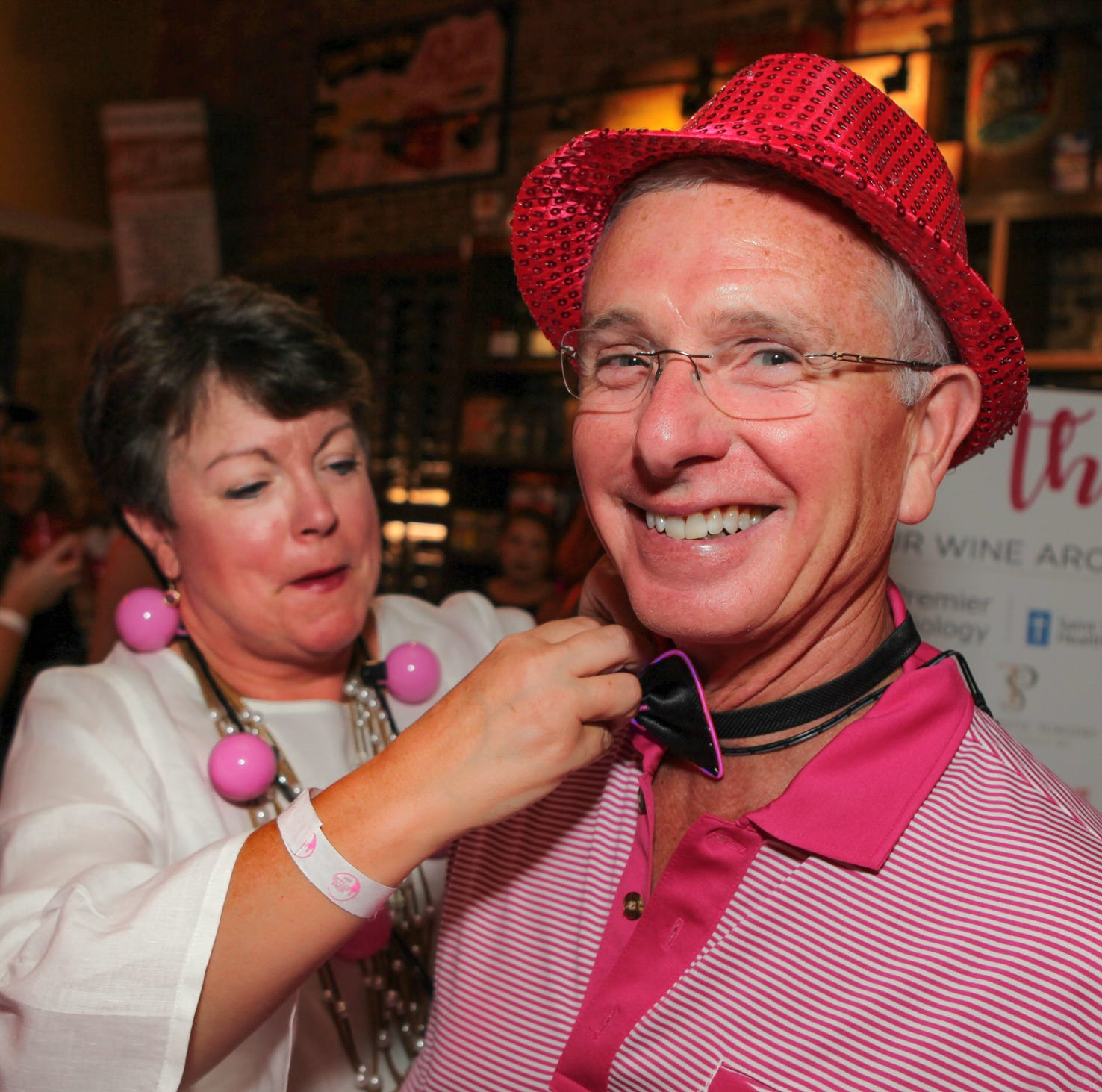 Wine Around the Square draws spirit lovers, breast cancer fighters