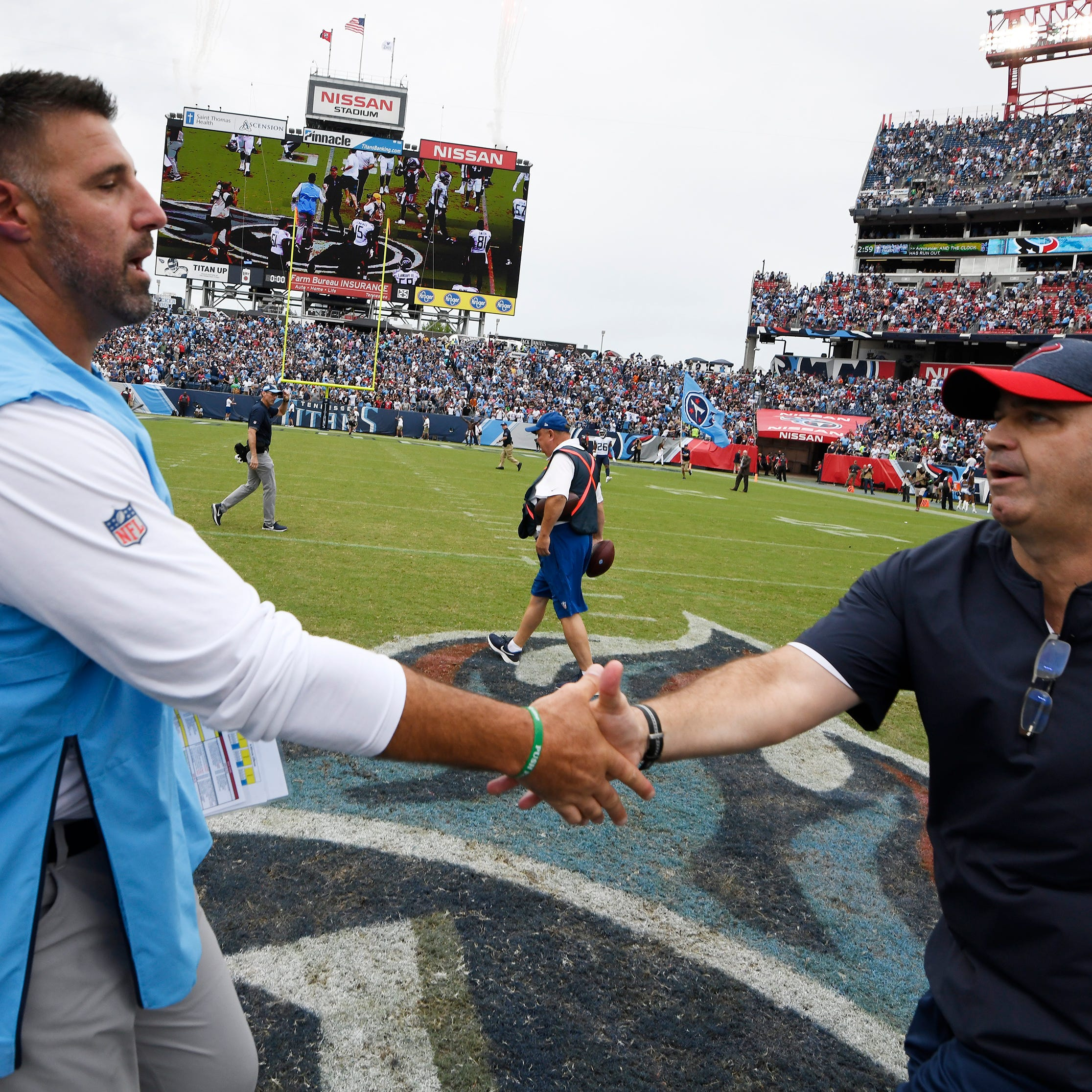 Titans' report card: Mike Vrabel gets an 'A' in first win as NFL head coach