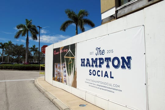 The Hampton Social is one of three new restaurants coming soon to Mercato in North Naples.