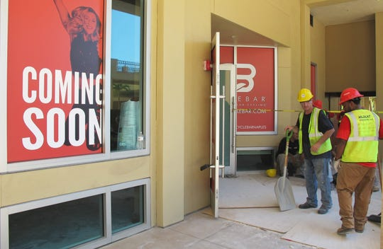 CycleBar, a business that provides an indoor cycling experience, is one of many new retailers coming soon to Mercato in North Naples.