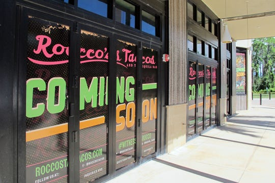 Rocco's Tacos and Tequila Bar is one of three new restaurants coming soon to Mercato in North Naples.