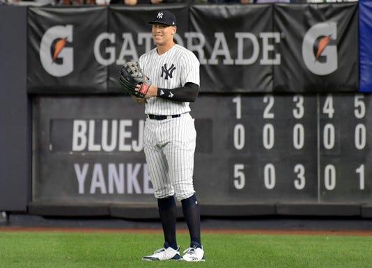 Blue Jays Yankees Baseball 4
