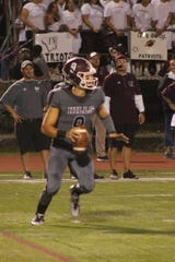 Wayne Hills quarterback Tom Sharkey passed for 187 yards and four touchdowns against NV/Old Tappan.