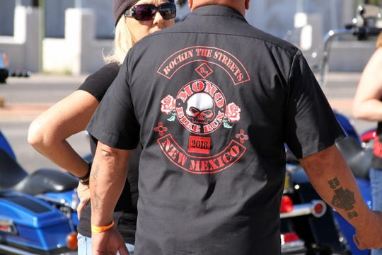 """Deming businessman Bill Dupree made a fashion statement this past weekend during the ninth annual Rockin' The Streets bike run in memory of Ramon """"MoMo"""" Pena III."""