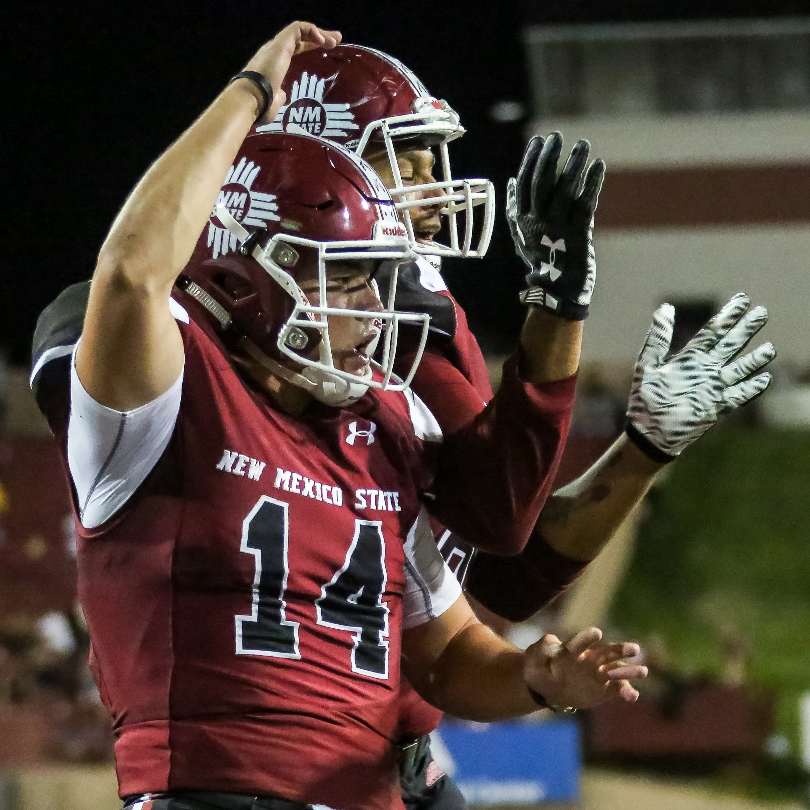 Josh Adkins named New Mexico State starter for UTEP game