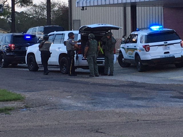 Authorities with the Opelousas Police Department, The St. Landry Parish Sheriff's Office, the Sunset Police Department and Louisiana State Police are on the scene of an active shooter in Sunset.