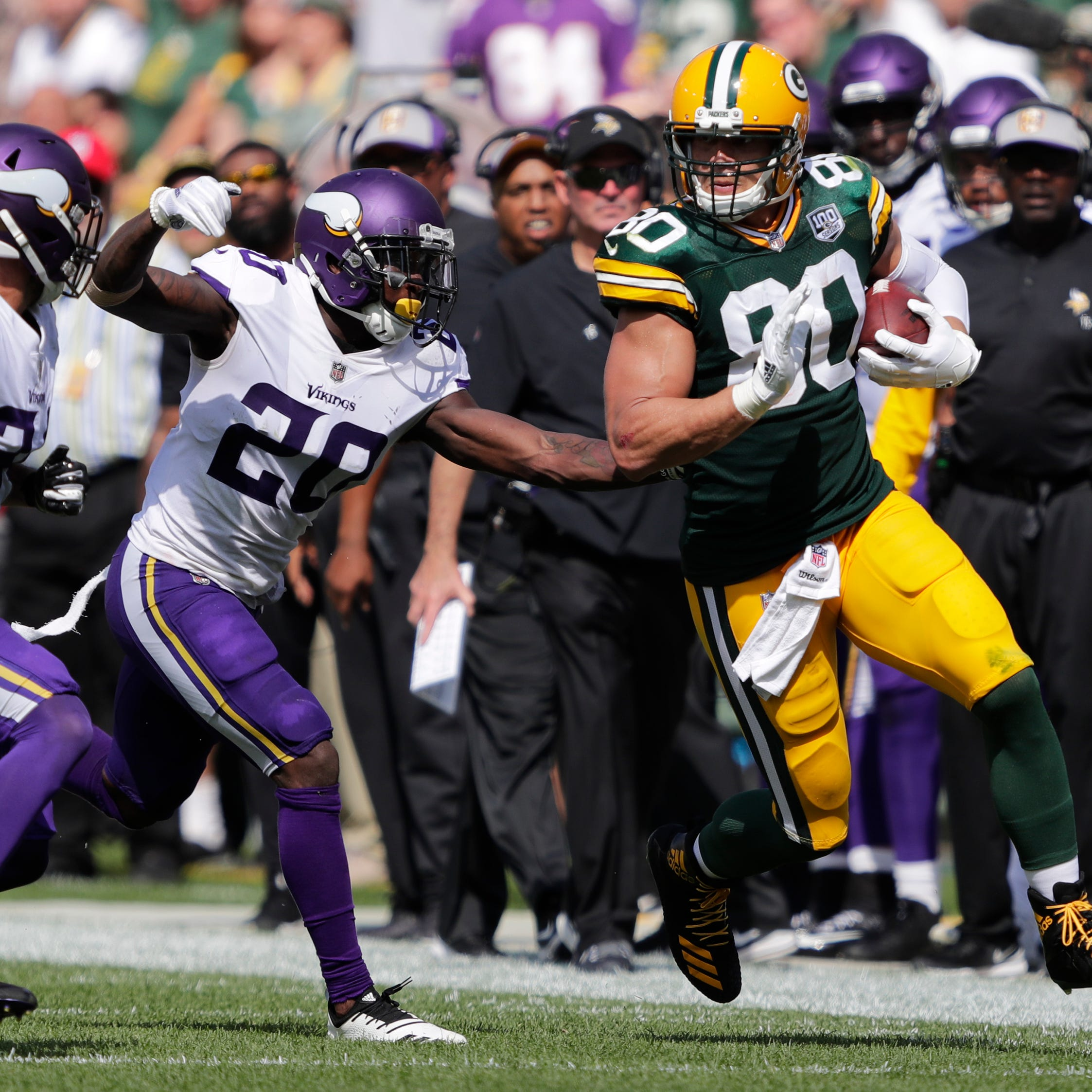 Tight end Jimmy Graham happy to play any role needed in Packers' offense
