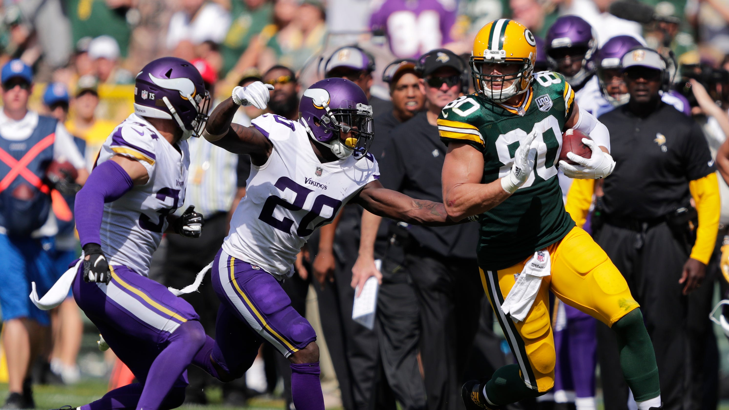 41933abfd Tight end Jimmy Graham happy to play any role needed in Packers  offense