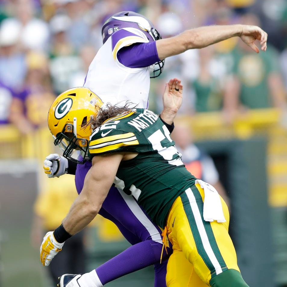 Packers' Clay Matthews hoping pass rushers can 'get back to playing ball'