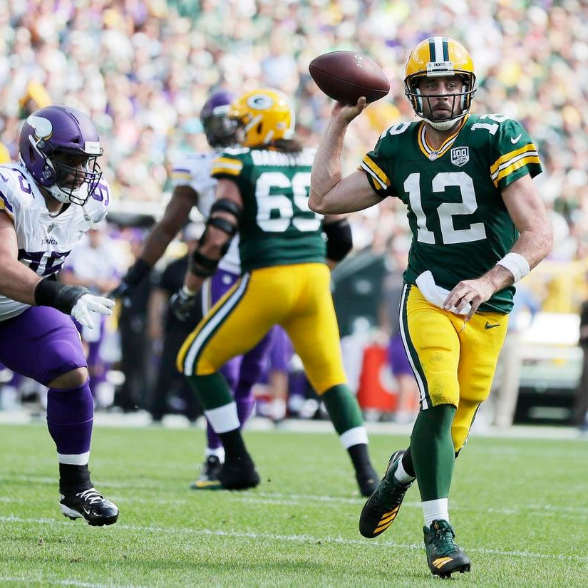 Packers quarterback Aaron Rodgers to practice Saturday in advance of Washington game