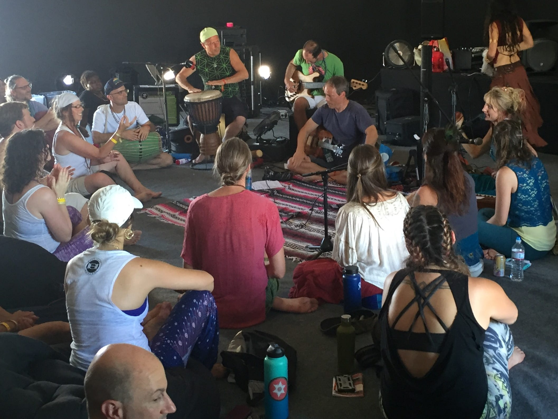 Thousands of people are expected to attend this weekend's Bhakti Fest,  a celebration of  East Indian sacred music, yoga and integrative health. Held in Joshua Tree, the event wraps up Sunday.