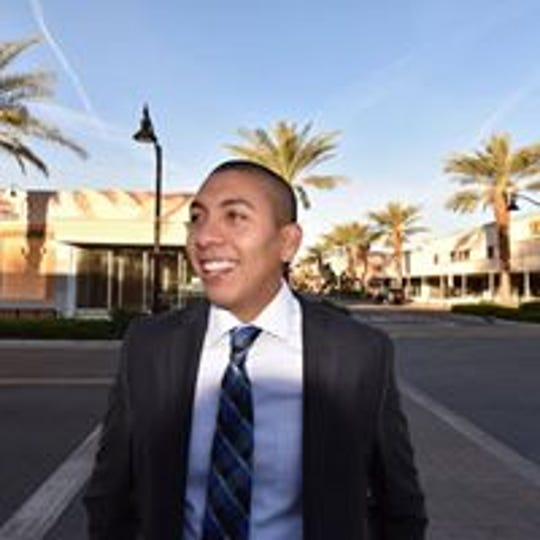 Oscar Ortiz is running for Indio City Councll.