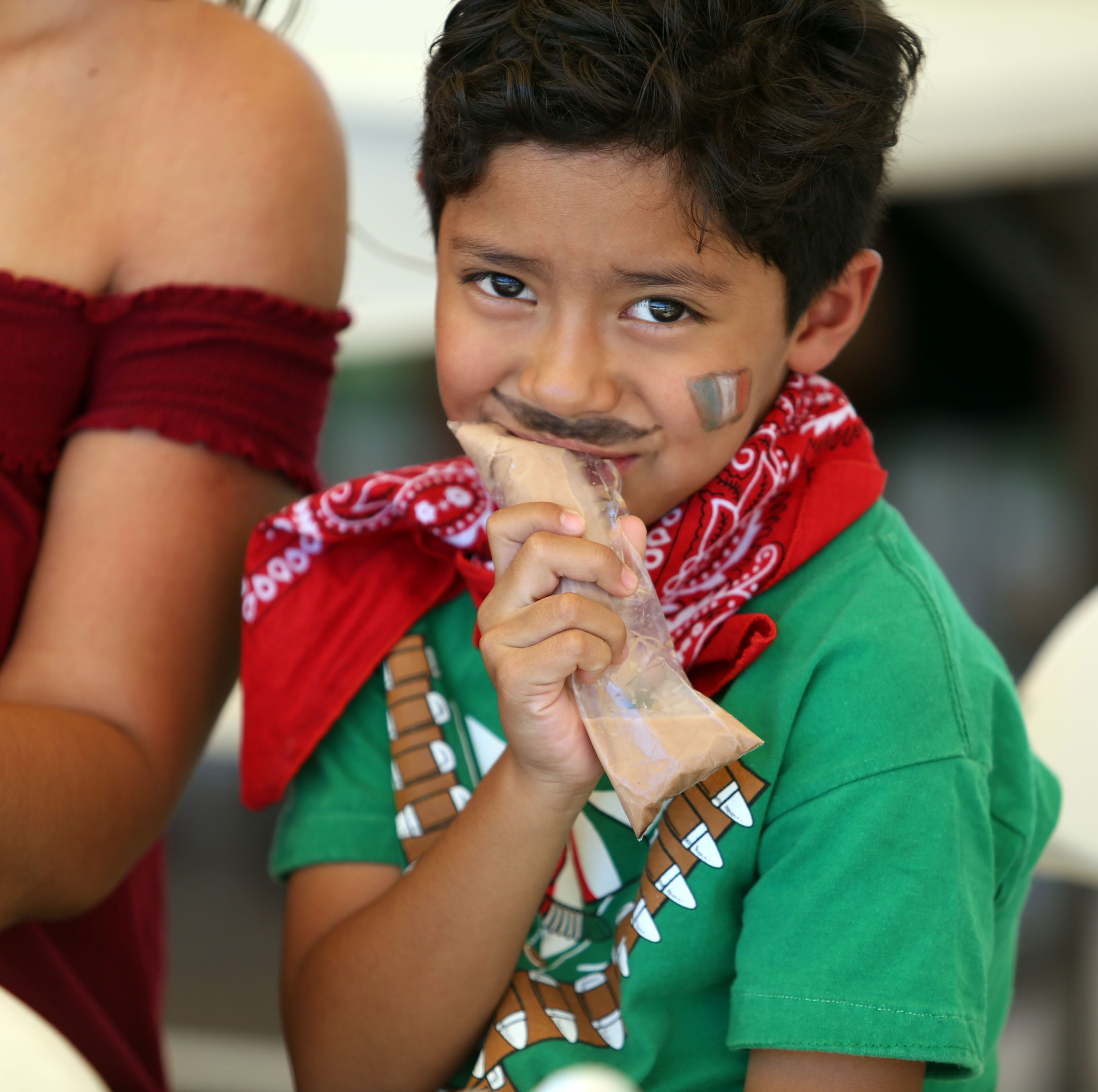 Dancing horses, mariachi and lots of food: Mecca's weekend bash for Mexican Independence Day