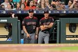 Diamondbacks manager Torey Lovullo talks about Zack Godley's struggles and the offense's quiet night against Charlie Morton in a 10-4 loss.