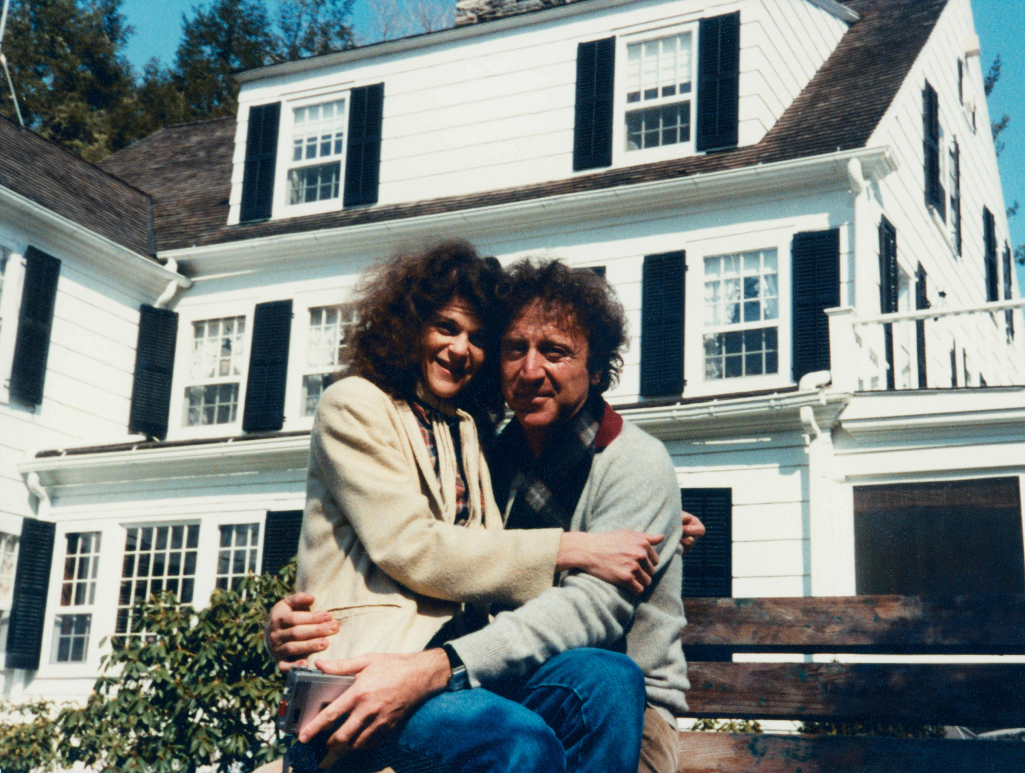 "Gilda Radner and Gene Wilder are seen at their home in ""Love, Gilda."""