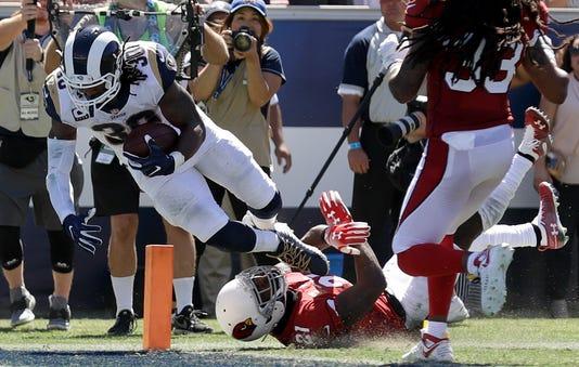 930eb616d Instant replay  Los Angeles Rams throttle hapless Arizona Cardinals